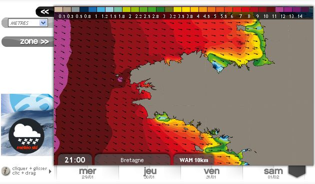 140201 21h vagues grandes marees