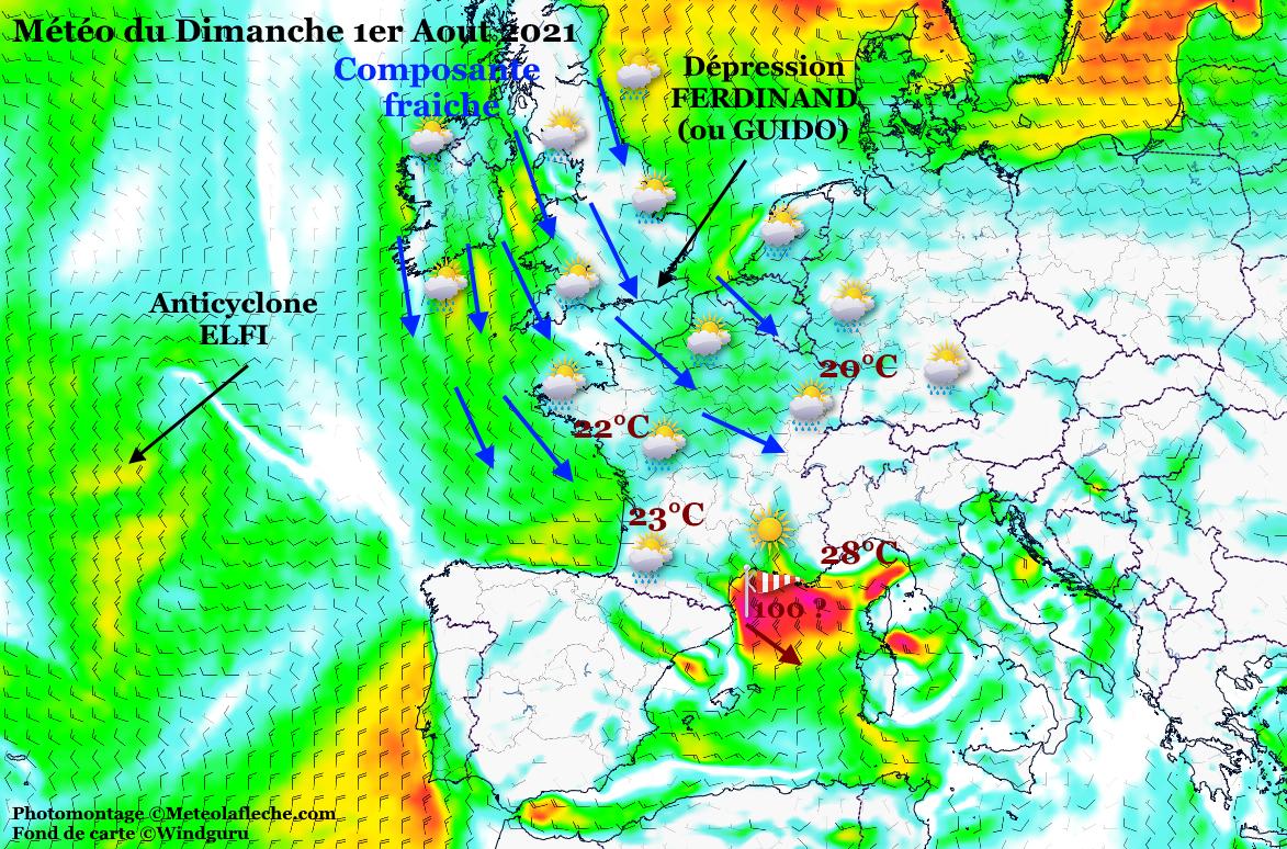 Meteo France 1er Aout 2021