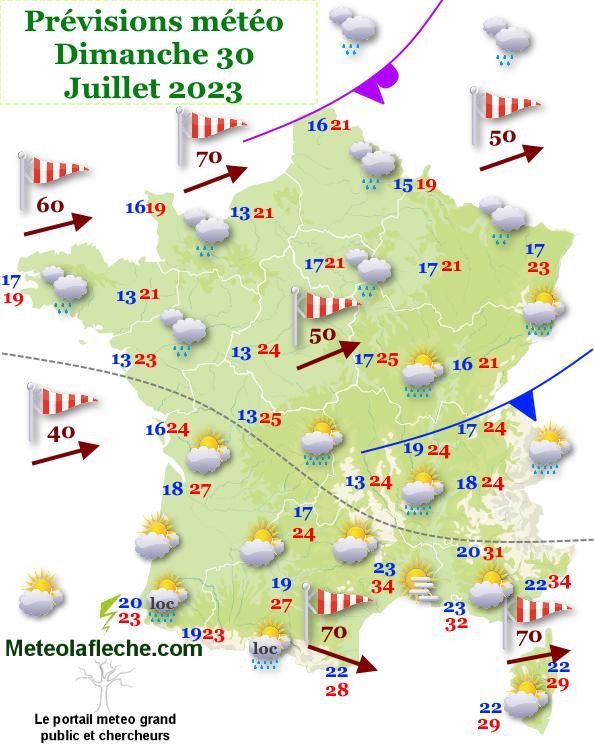 Meteo France jour 2