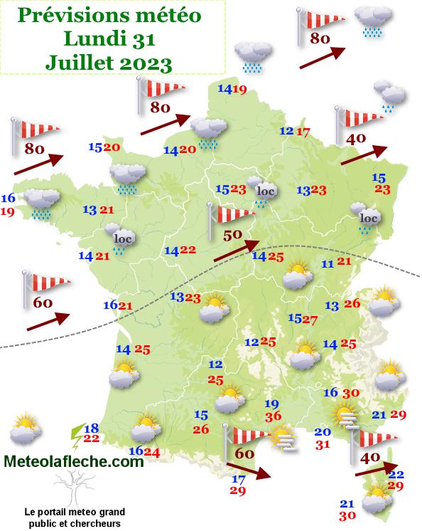 Meteo France jour 3
