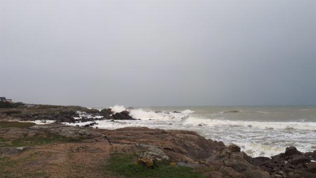 Tempete BELLA Batz sur mer 27 Décembre 2020